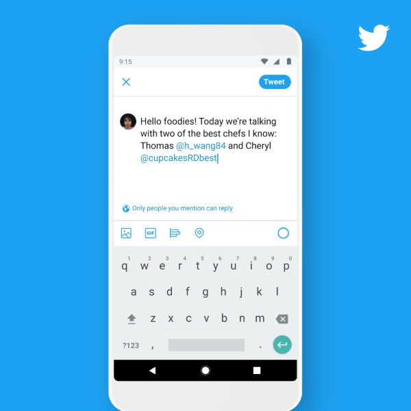 Nowa funkcja blokowania odpowiedzi na Twitterze od strony piszącego