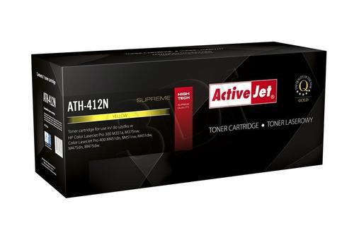 ActiveJet ATH-412N żółty toner do drukarki laserowej HP (zamiennik 305A CE412A) Supreme