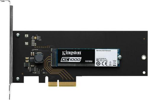 Kingston KC1000 480GB HHHL PCIe x4 NVMe (SKC1000H/480G)