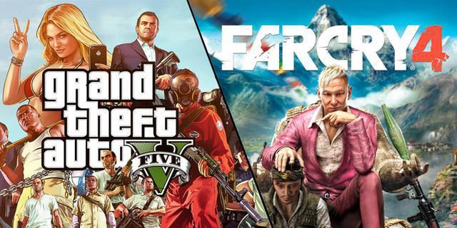 GTA V vs Far Cry 4
