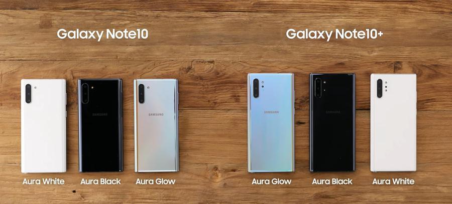 Samsung Galaxy Note i jego warianty kolorystyczne