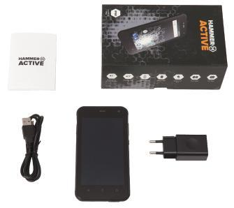 myPhone Hammer Active (czarny)