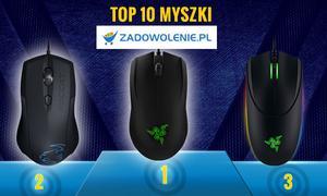 TOP 10 Myszek Dla Graczy - Zobacz Polecane Gryzonie