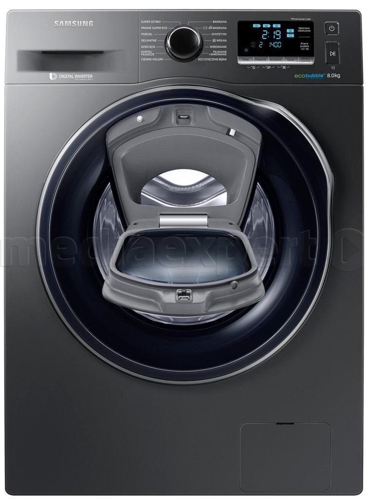 SAMSUNG WW80K6414QX/EO Add Wash