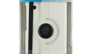 4World Etui ochronne/Podstawka do Galaxy Tab 2, Rotary, 7'', białe