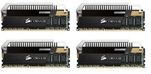 Corsair DDR4 Dominator PLATINUM 16GB/2666 (4*4GB) CL15-17-17-35