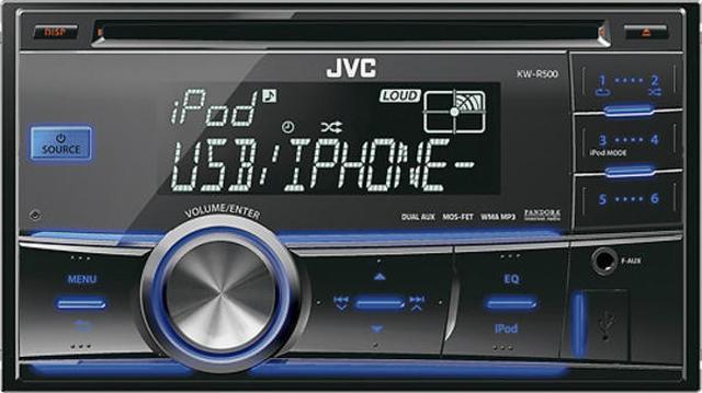 JVC KW-R500 - funkcjonalny radioodtwarzacz samochodowy