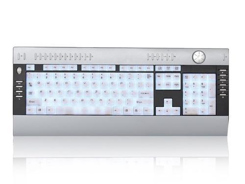 GEMBIRD Klawiatura Multimedialna Podświetlana USB (KB-9140L)