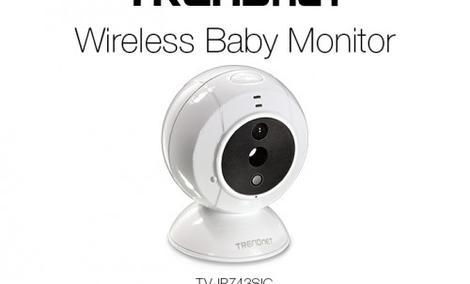 TRENDnet TV-IP743SIC - Kamera Dla Troskliwych Rodziców