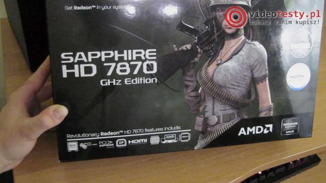 Sapphire Radeon HD7870 GHz Edytion OC [Unboxing]