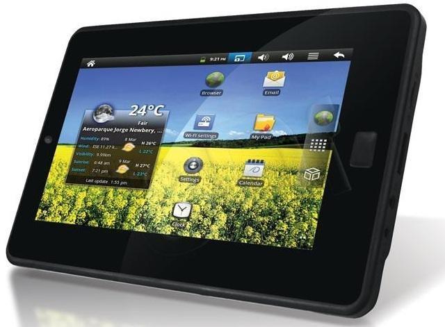 Apollo Quicki 725 - tablet w niskiej cenie