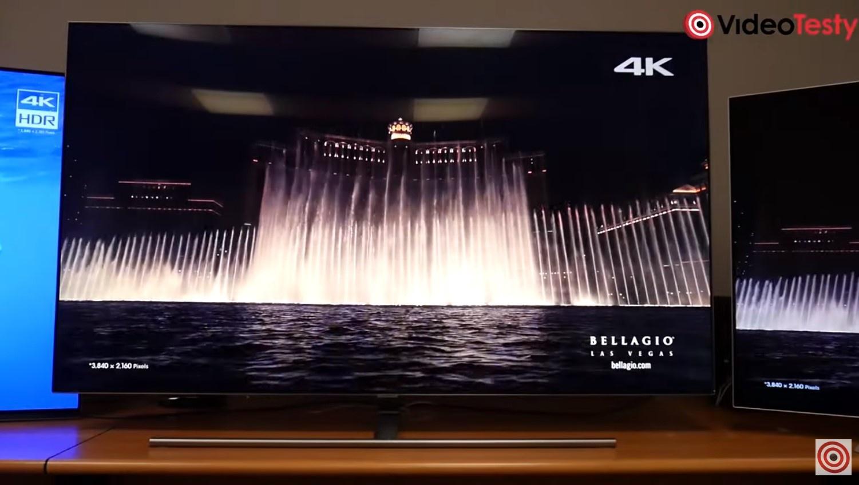 Przykładowy telewizor QLED