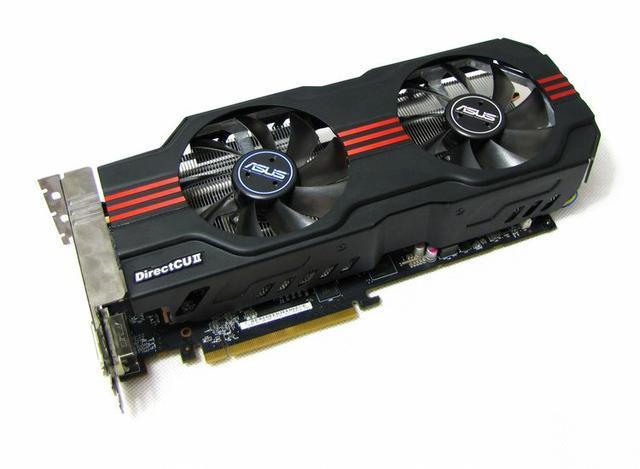 Asus Radeon HD7950 DirectCU II Top fot1