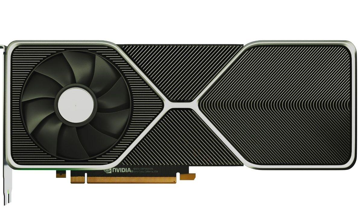 Render rzekomej nowości na rynku kart graficznych - GeForce RTX 3080