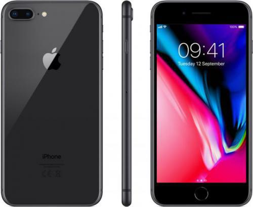 Apple iPhone 8 Plus 64GB Gwiezdna Szarość (MQ8L2)