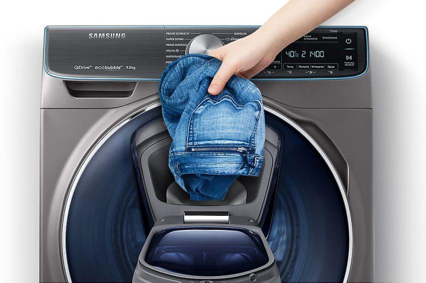 Samsung Quick Drive WW90M741NOO dodatkowe drzwi addwash