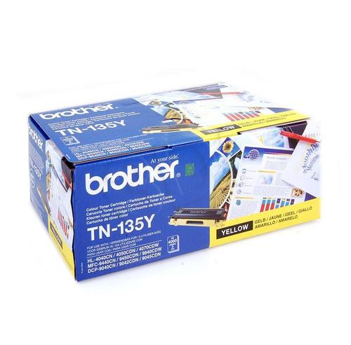 BROTHER Toner Żółty TN135Y=TN-135Y, 4000 str.