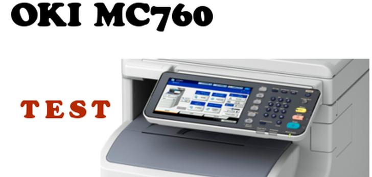 Duże urządzenie z dużymi możliwościami dla dużych firm - test OKI MC760