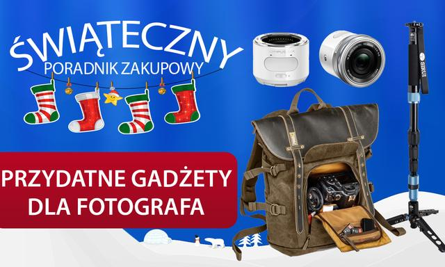 Przydatne Gadżety dla Fotografa pod Choinkę