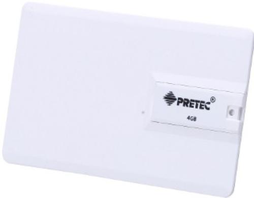 PRETEC i-Disk 4GB PenDr Pocket CreditCart USB 2.0