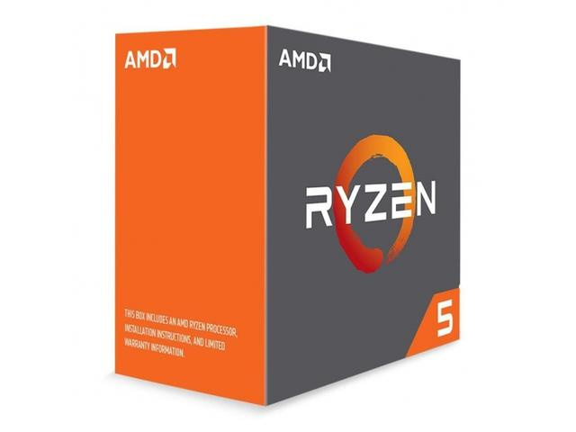 AMD Ryzen 5 1600X, 3.6-4,0 GHz