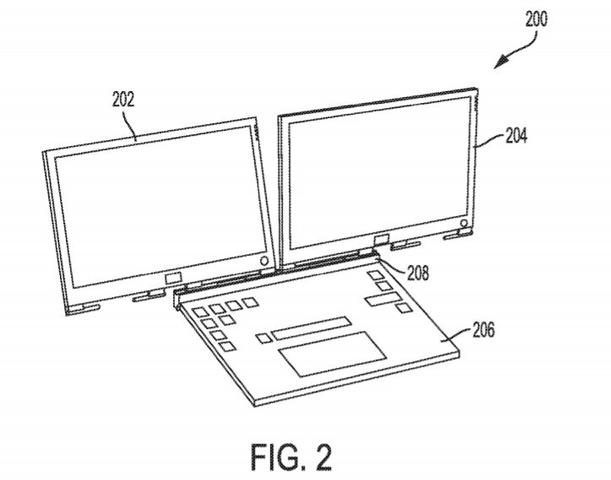 Dell Patent laptop