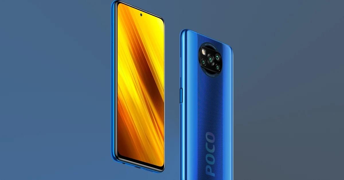 POCO X3 NFC pojawi się kolorze niebieskim