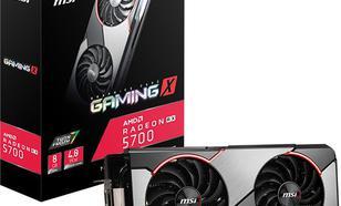 MSI Radeon RX 5700 GAMING X 8GB GDDR6 (RX 5700 GAMING X)