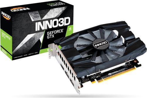 Inno3D GeForce GTX 1650 Compact X1, 4GB GDDR5, HDMI, 2x DisplayPort