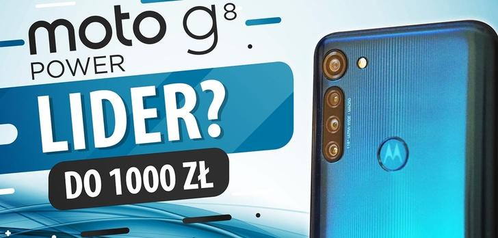 Test Motorola Moto G8 Power - Recenzja smartfona z dużą baterią