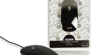 Sweex Ultra Slim, czarna (NPMI1101-00)