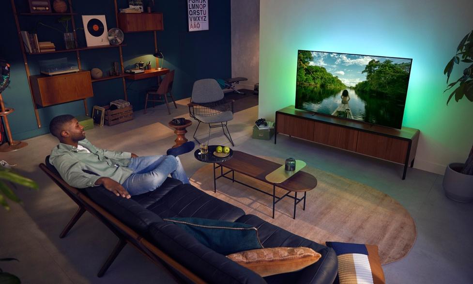 Telewizor Philips OLED705 120 Hz w polskich sklepach