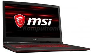 MSI GL73 8SC-003XPL - 480GB SSD | 16GB