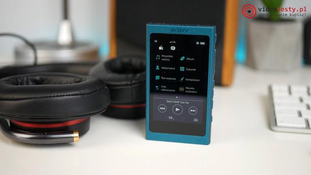 Wygląd Sony NW-A35