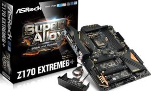 Asrock Płyta główna Z170 EXTREME6+ LGA 1151 ATX