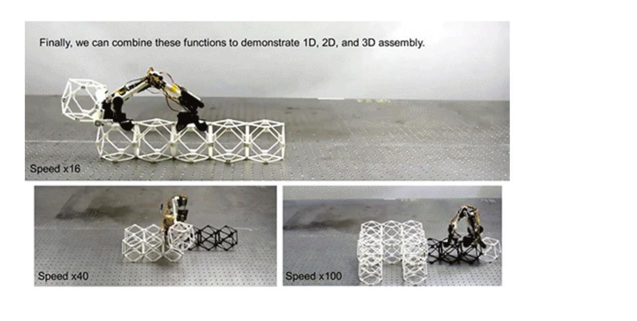Robot z MIT porusza się samodzielnie po charakterystycznych strukturach