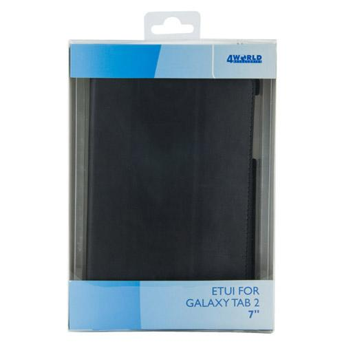 4World ETUI DO GALAXY TAB 2 7'' 4-FOLD SLIM CZARNE