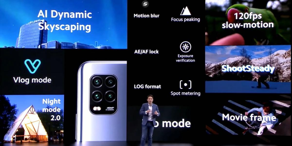 Mi 10 Lite 5G ma aspiracje do zostania telefonem do video