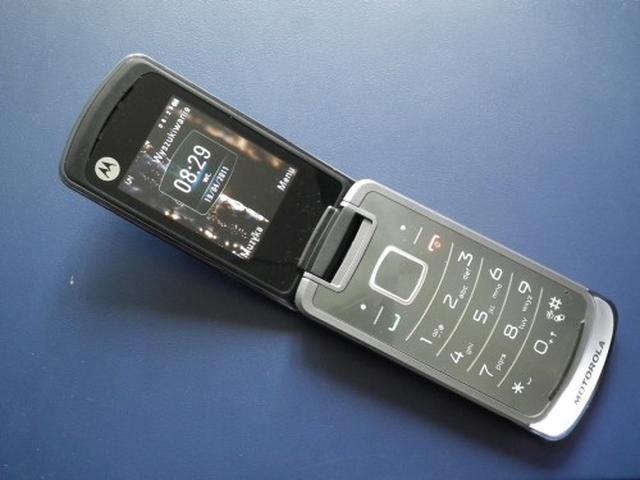 Motorola Gleam - test smukłego telefonu z klapką