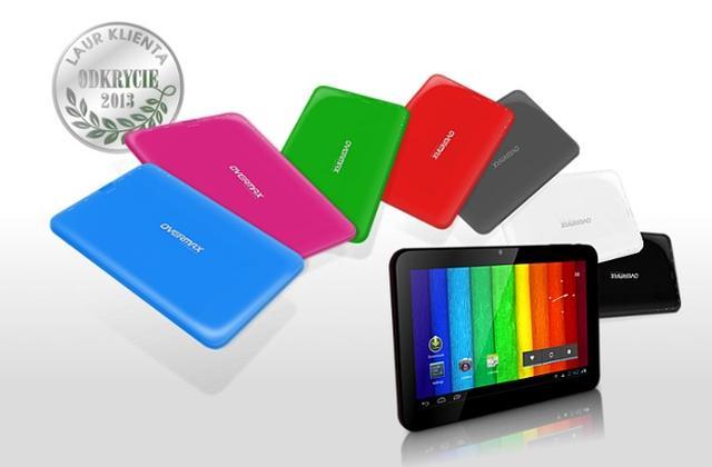 Kolorowy tablet NewBase 2 Overmax  w najmodniejszych barwach !