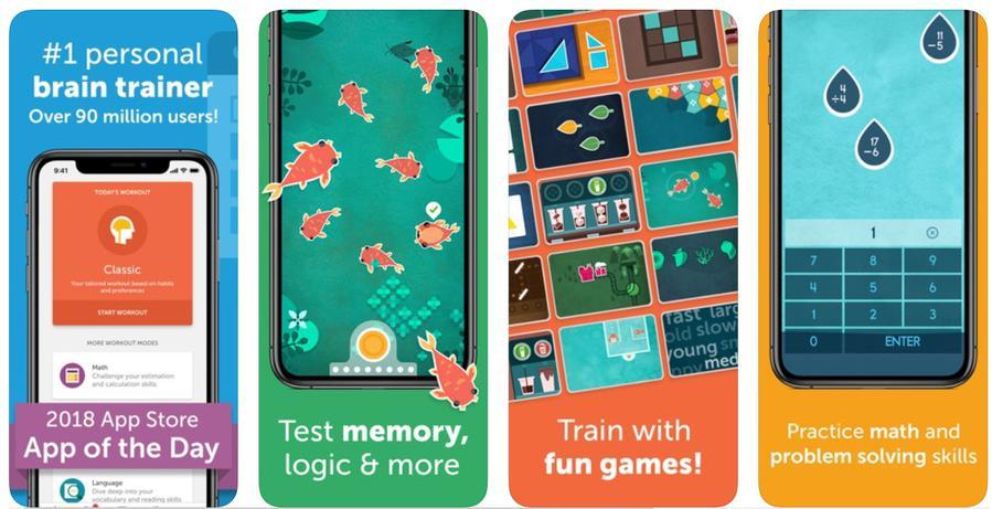 Lumosity oferuje kilkadziesiąt gier trenujących różne obszary mózgu