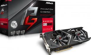 ASRock Phantom Gaming X Radeon RX580 8G OC GDDR5 (256 bit) HDMI, DVI,