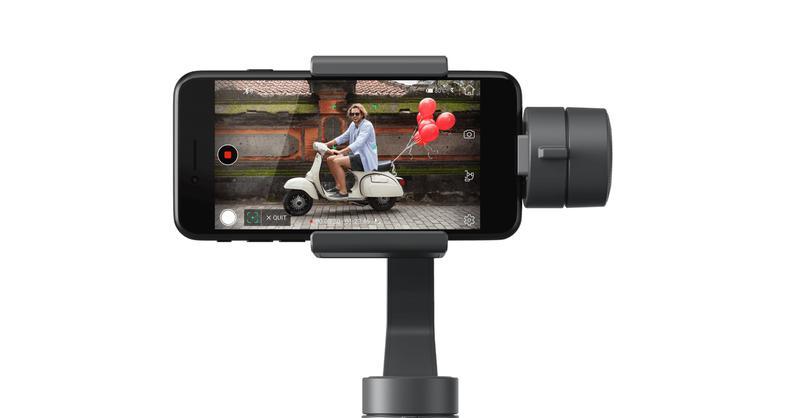 DJI Osmo Mobile 2 pozwala nagrywać stabilizowane video