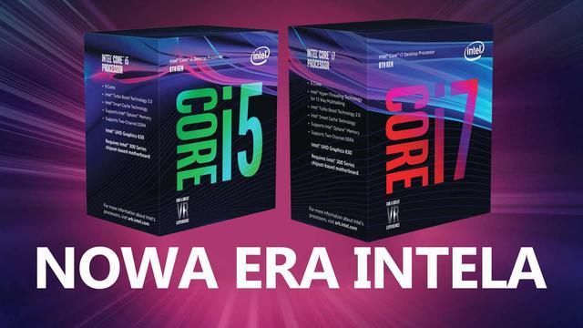 Nowa era Intela - Premiera Sześciordzeniowych Procesorów Coffee Lake