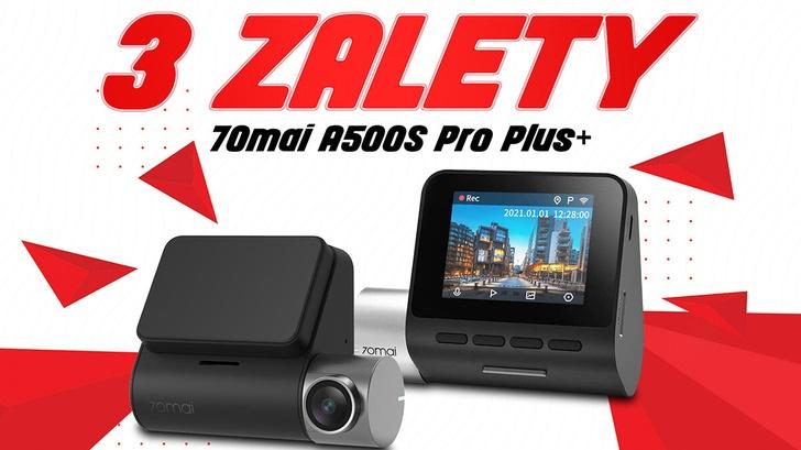 3 zalety 70mai A500S Pro Plus, które musisz poznać!