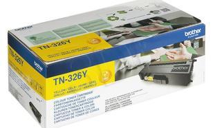 BROTHER Toner Żółty TN326Y=TN-326Y, 3500 str.