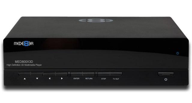 MED800x3D – nowy, przystępny cenowo odtwarzacz multimediów 3D
