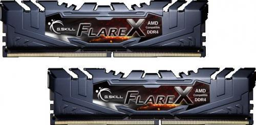 G.Skill Flare X DDR4. 2x16GB, 2933MHz, CL16 (F4-2933C16D-32GFX)