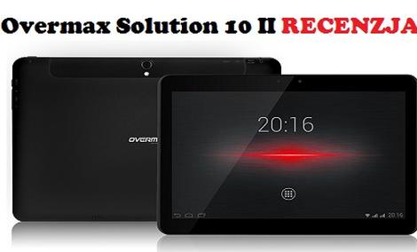 Overmax Solution 10 II - druga odsłona popularnego tabletu Overmaxa