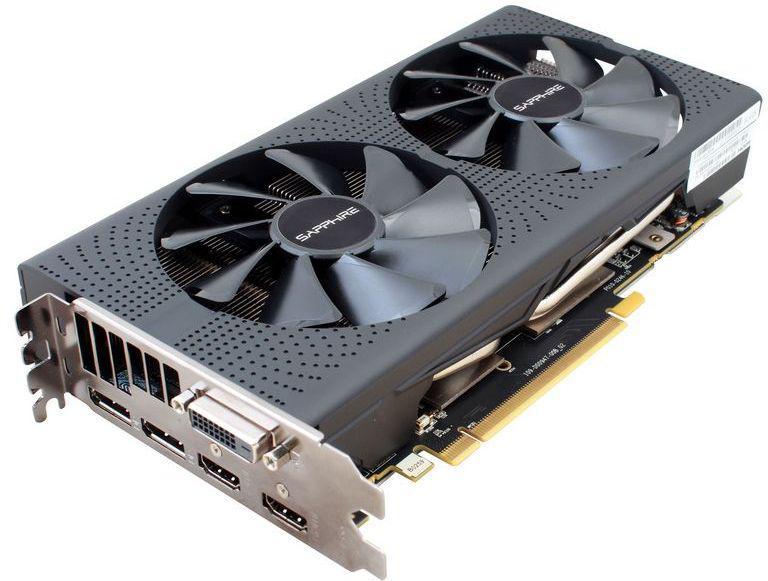 Sapphire Radeon RX 570 Pulse 8GB GDDR5 GDDR5 (256 bit) DVI-D, 2xHDMI,